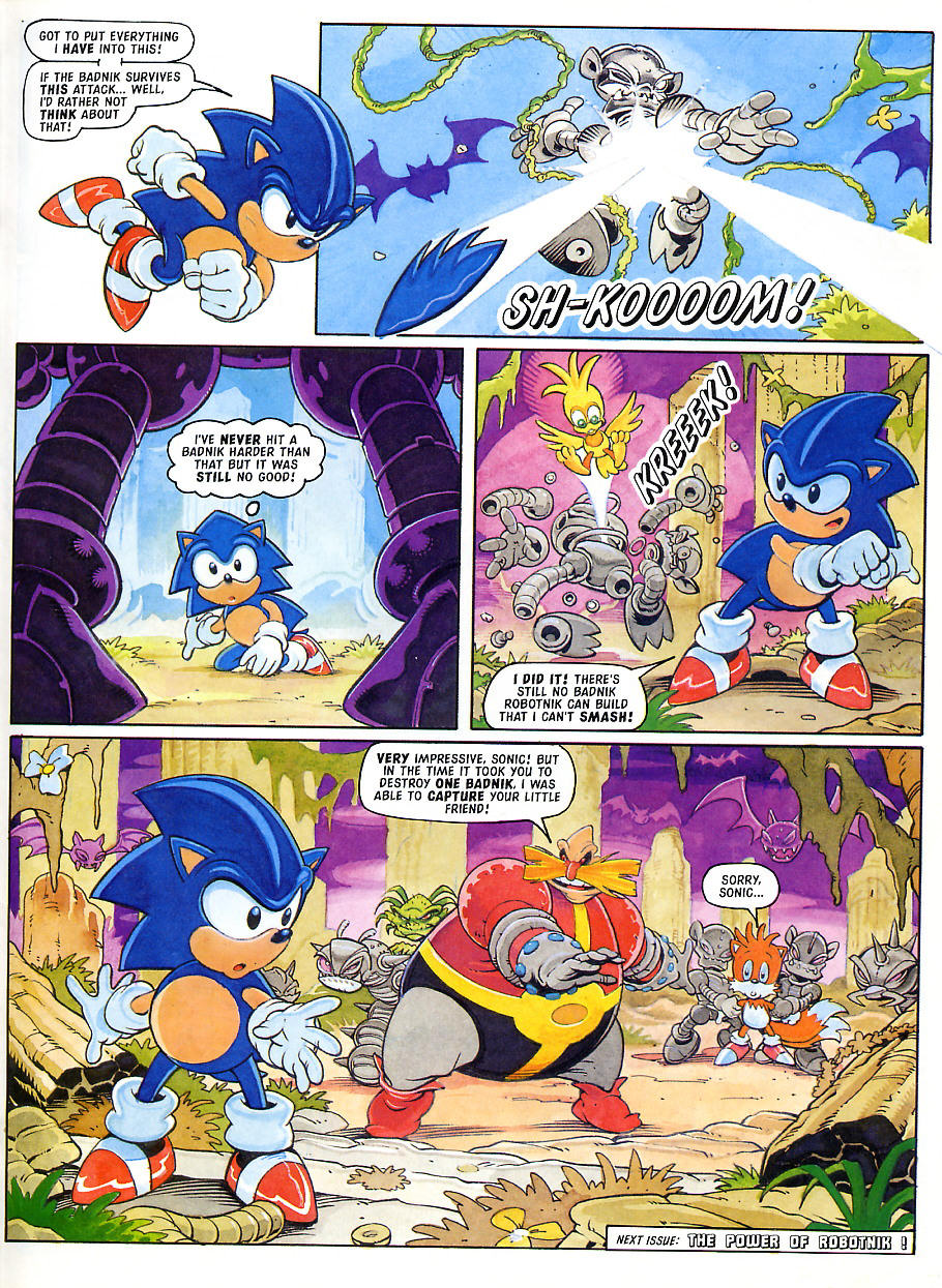 Sonic - The Comic Issue No. 105 Page 8