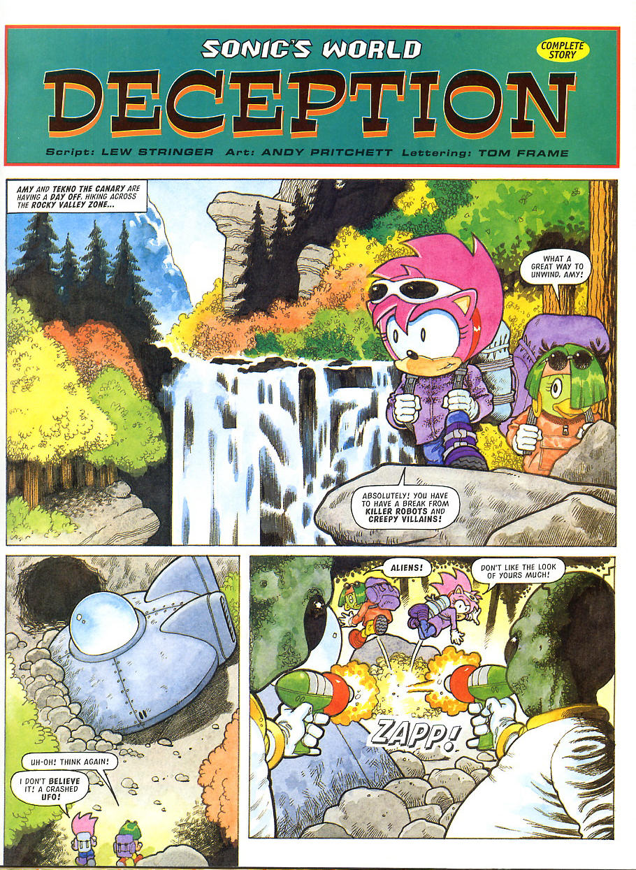 Sonic - The Comic Issue No. 105 Page 22