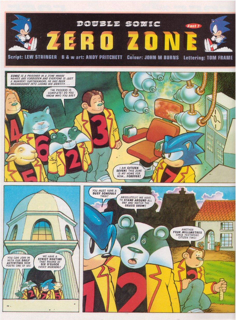 Sonic - The Comic Issue No. 107 Page 22