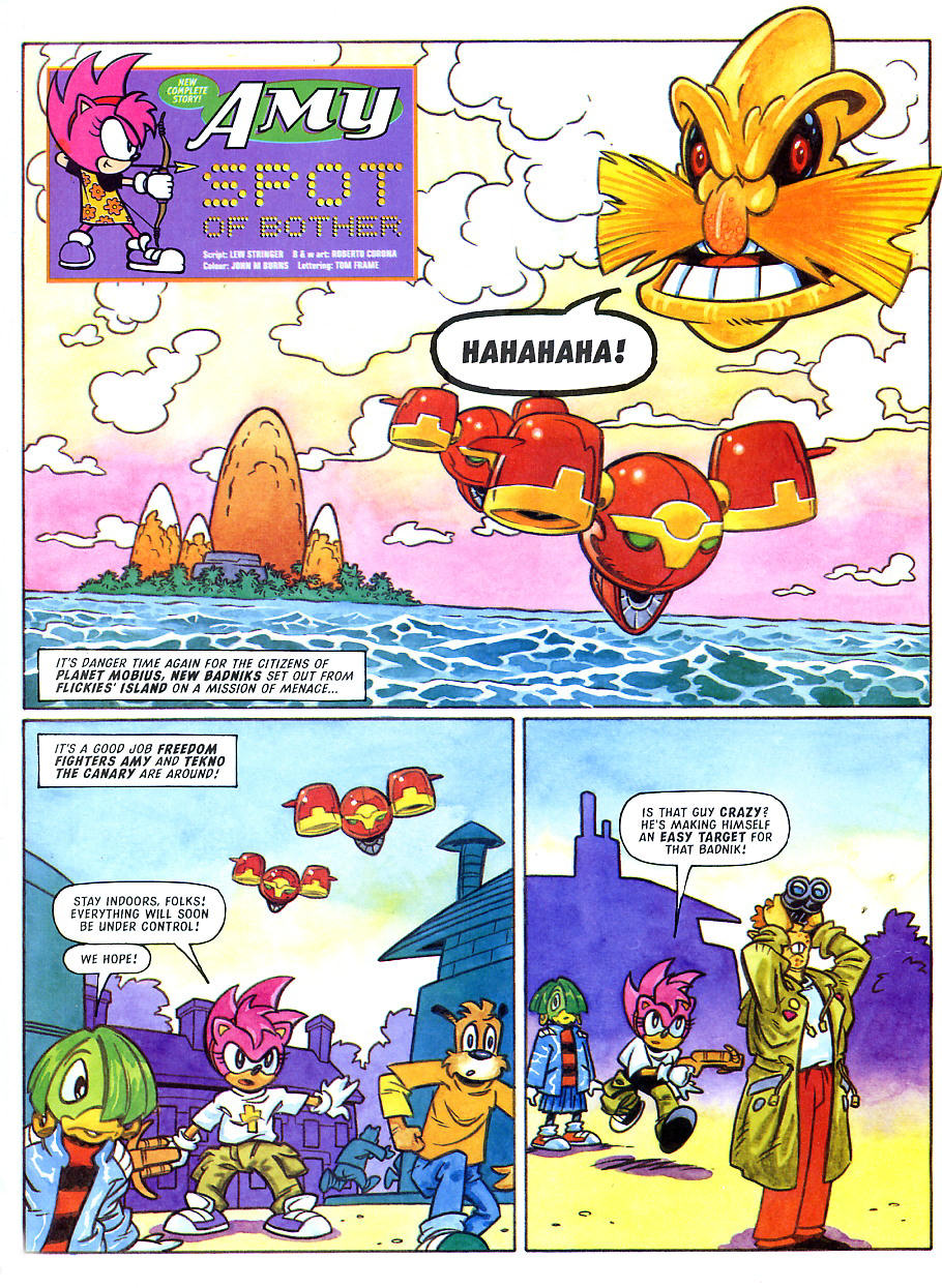 Sonic - The Comic Issue No. 108 Page 22