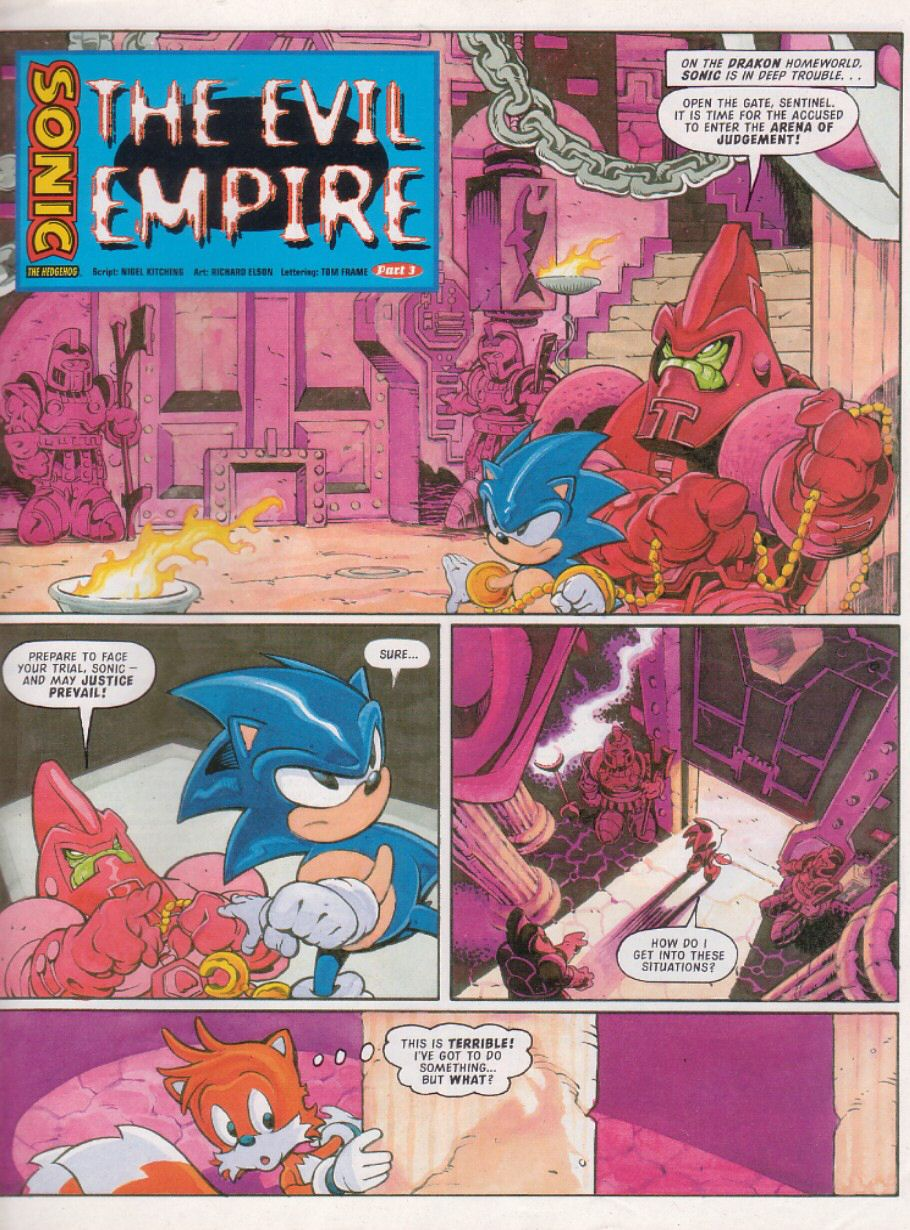 Sonic - The Comic Issue No. 110 Page 2
