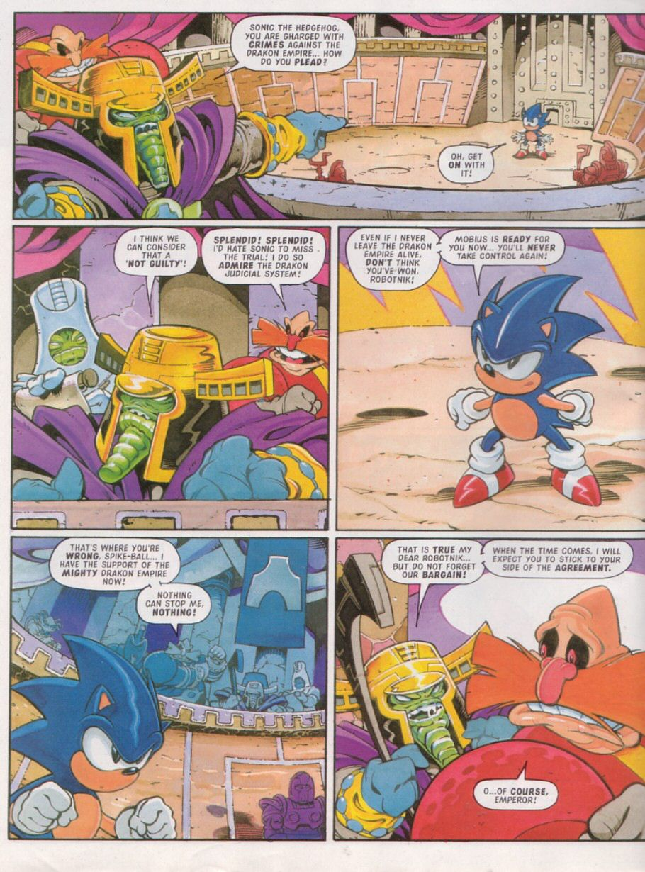 Sonic - The Comic Issue No. 110 Page 3