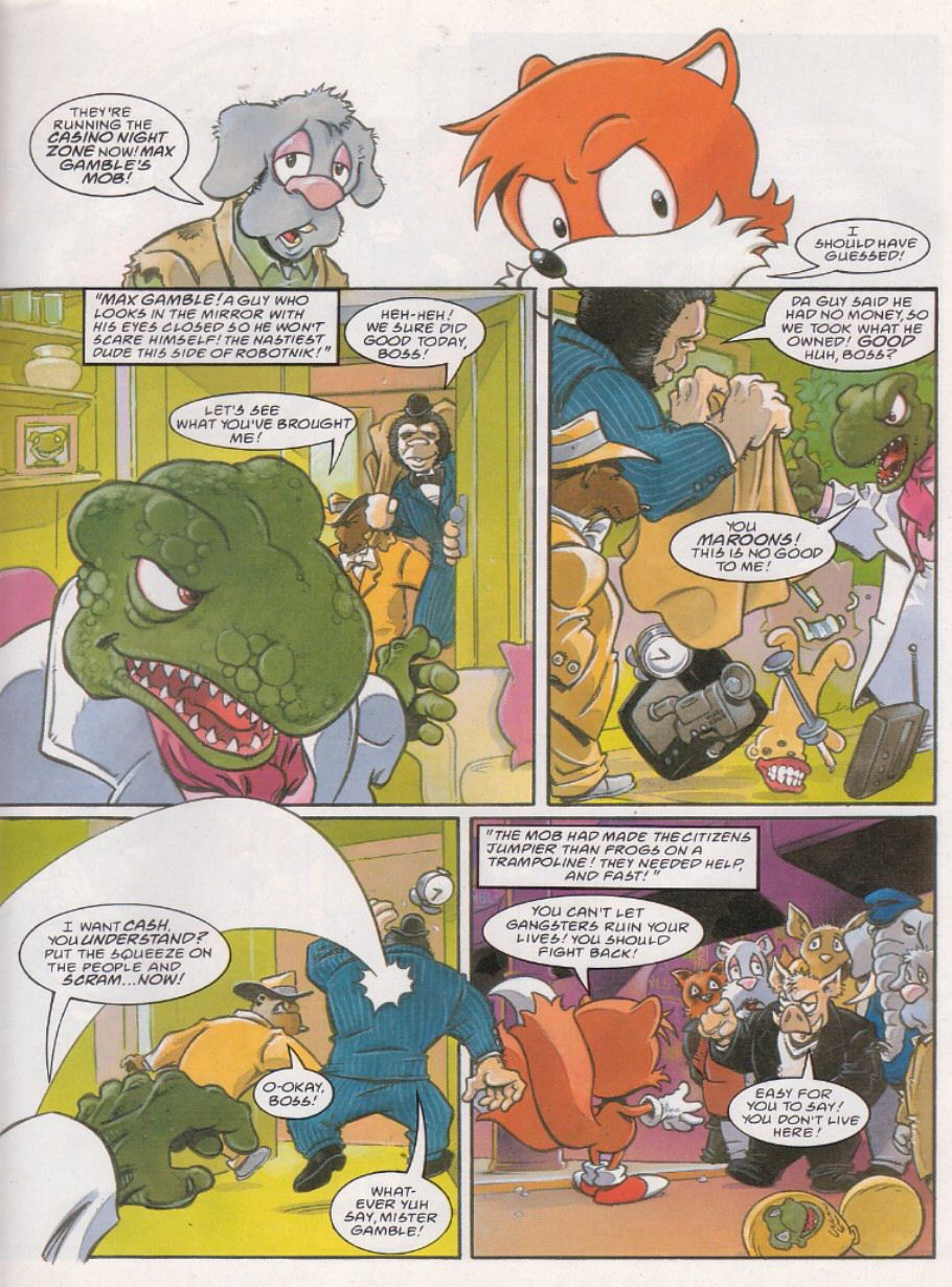 Sonic - The Comic Issue No. 110 Page 10