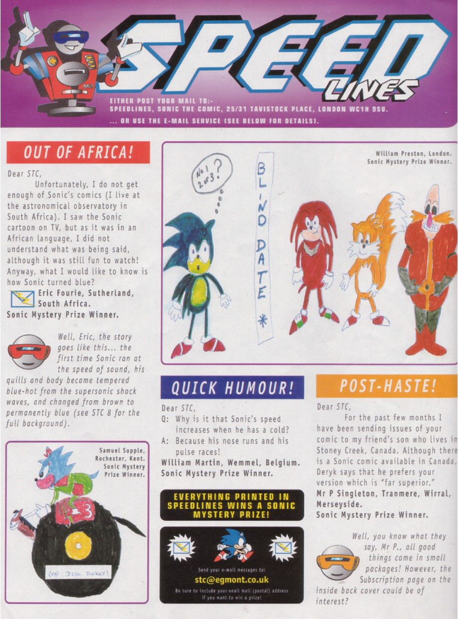 Sonic - The Comic Issue No. 110 Page 14