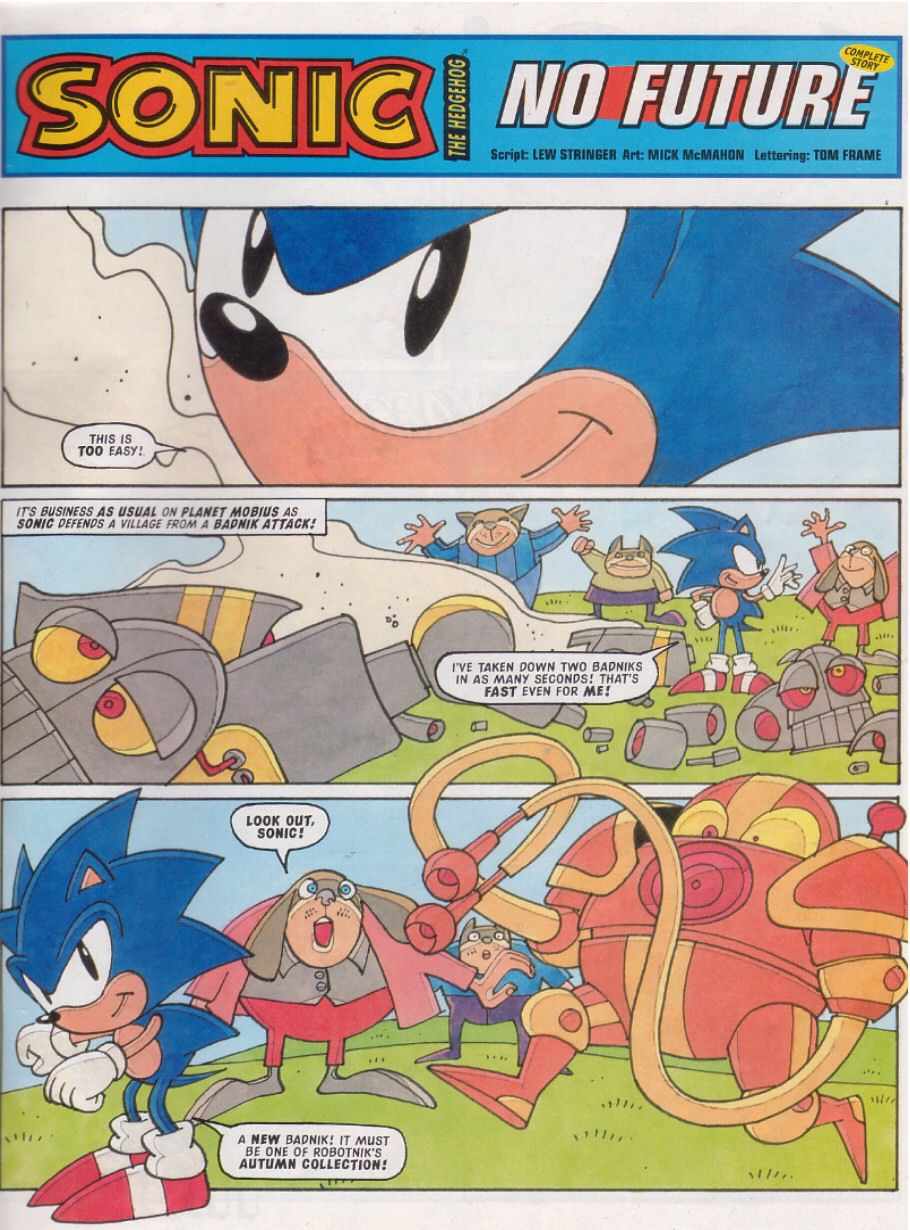 Sonic - The Comic Issue No. 112 Page 2