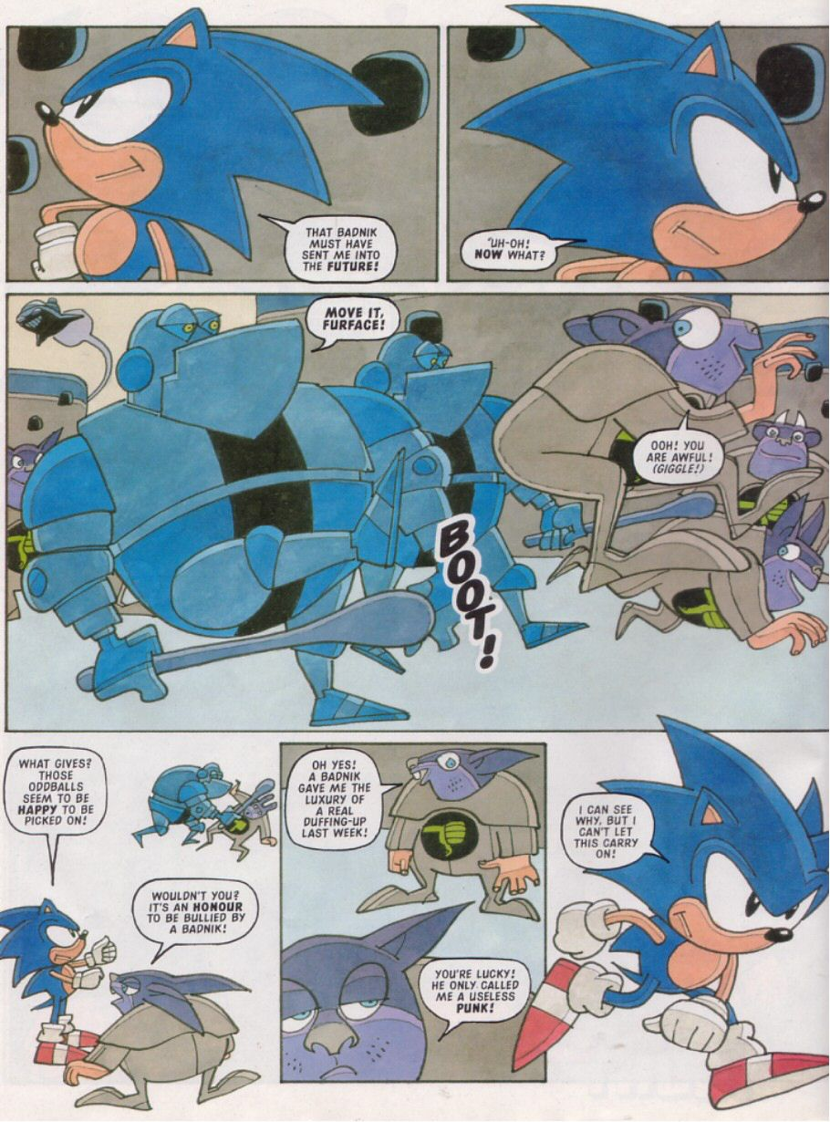 Sonic - The Comic Issue No. 112 Page 5