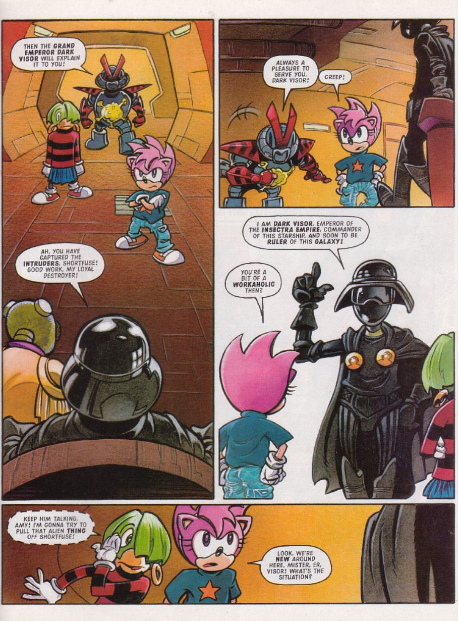 Sonic - The Comic Issue No. 112 Page 23