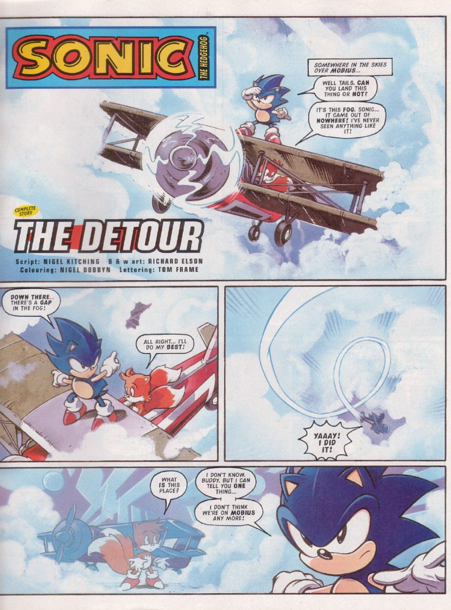 Sonic - The Comic Issue No. 113 Page 2