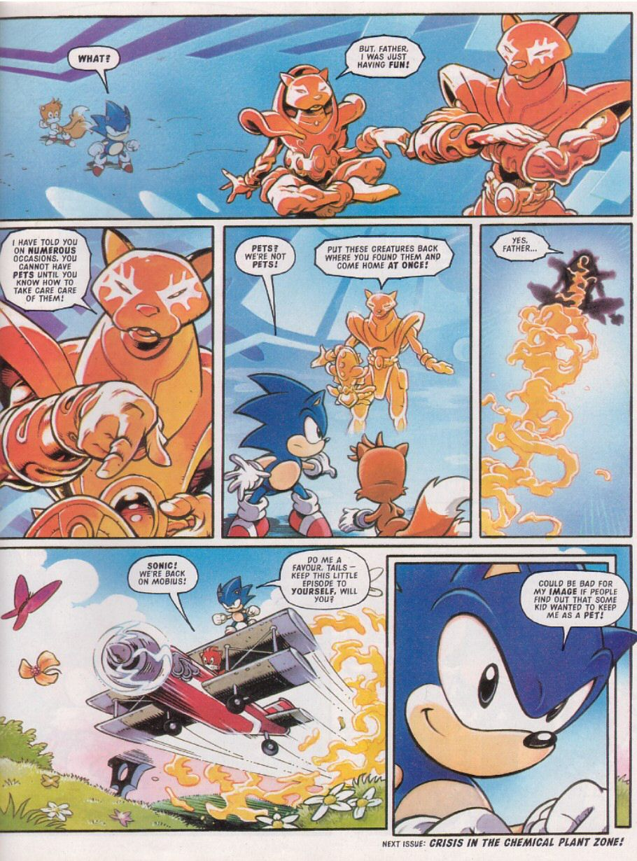 Sonic - The Comic Issue No. 113 Page 8