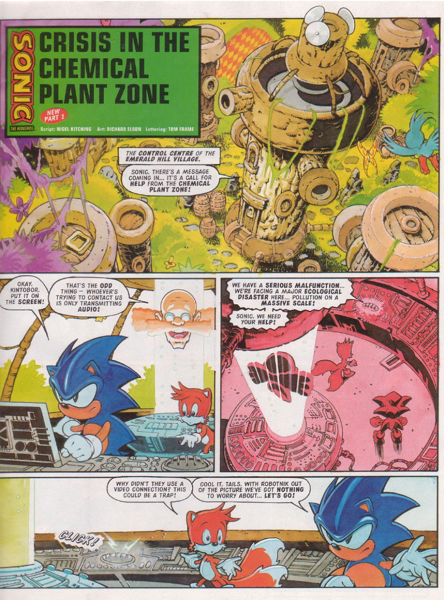 Sonic - The Comic Issue No. 114 Page 2
