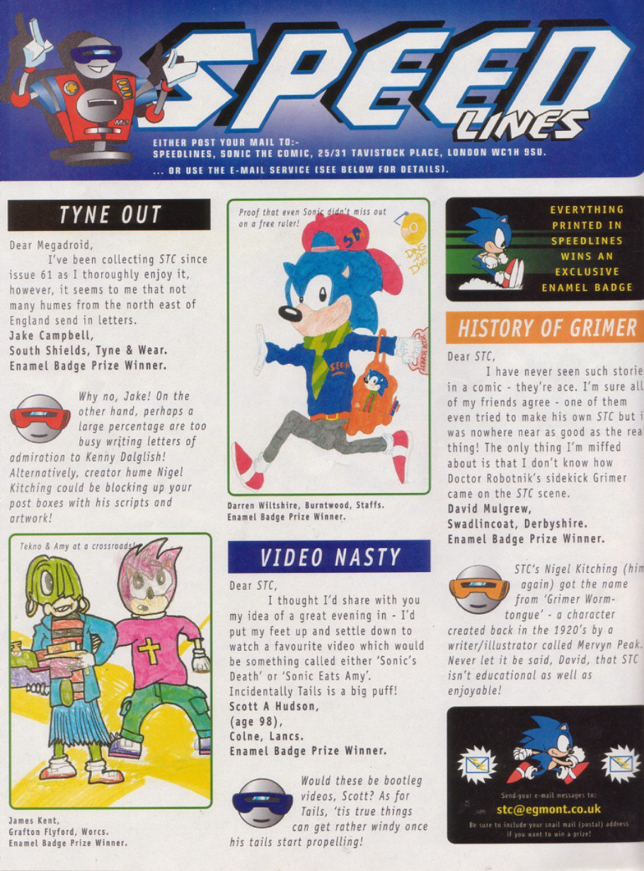 Sonic - The Comic Issue No. 114 Page 14