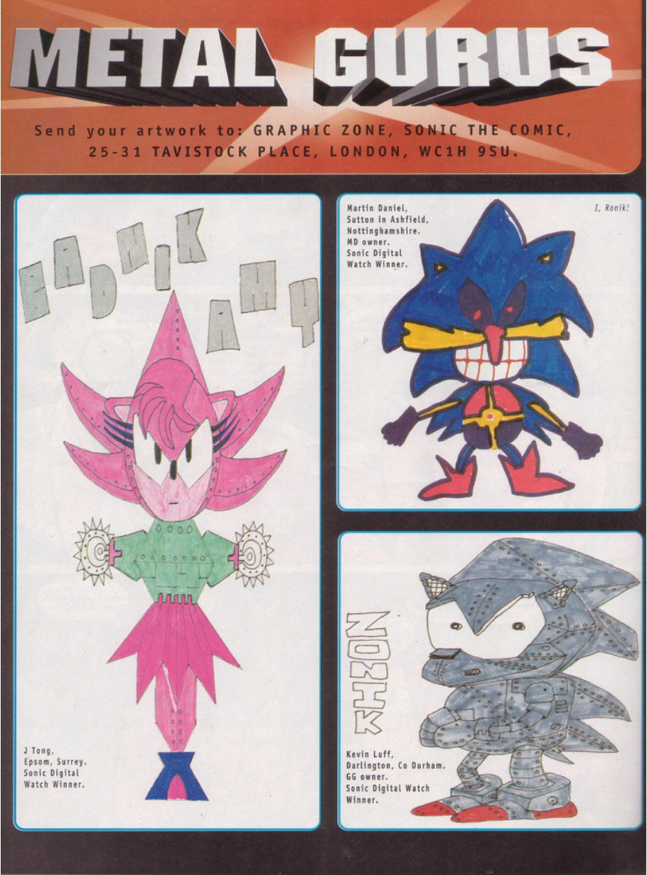 Sonic - The Comic Issue No. 114 Page 20