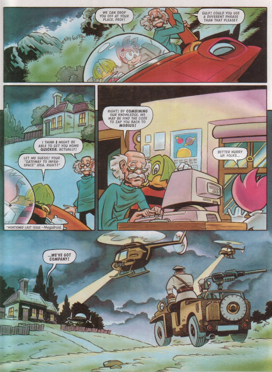 Sonic - The Comic Issue No. 115 Page 23