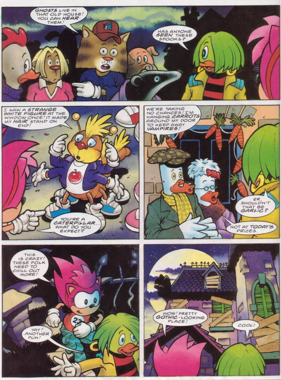 Sonic - The Comic Issue No. 116 Page 22