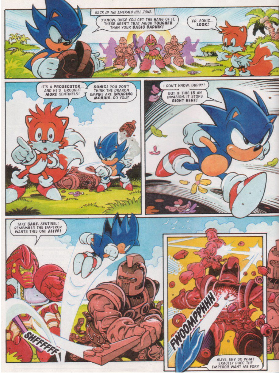 Sonic - The Comic Issue No. 117 Page 5