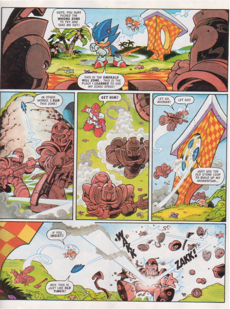 Sonic - The Comic Issue No. 117 Page 6