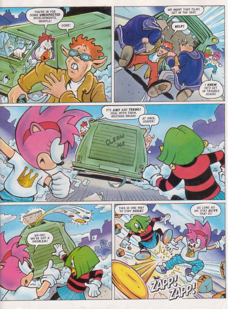 Sonic - The Comic Issue No. 117 Page 17