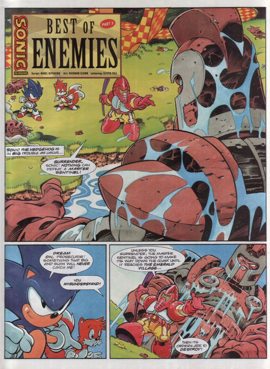 Sonic - The Comic Issue No. 118 Page 2