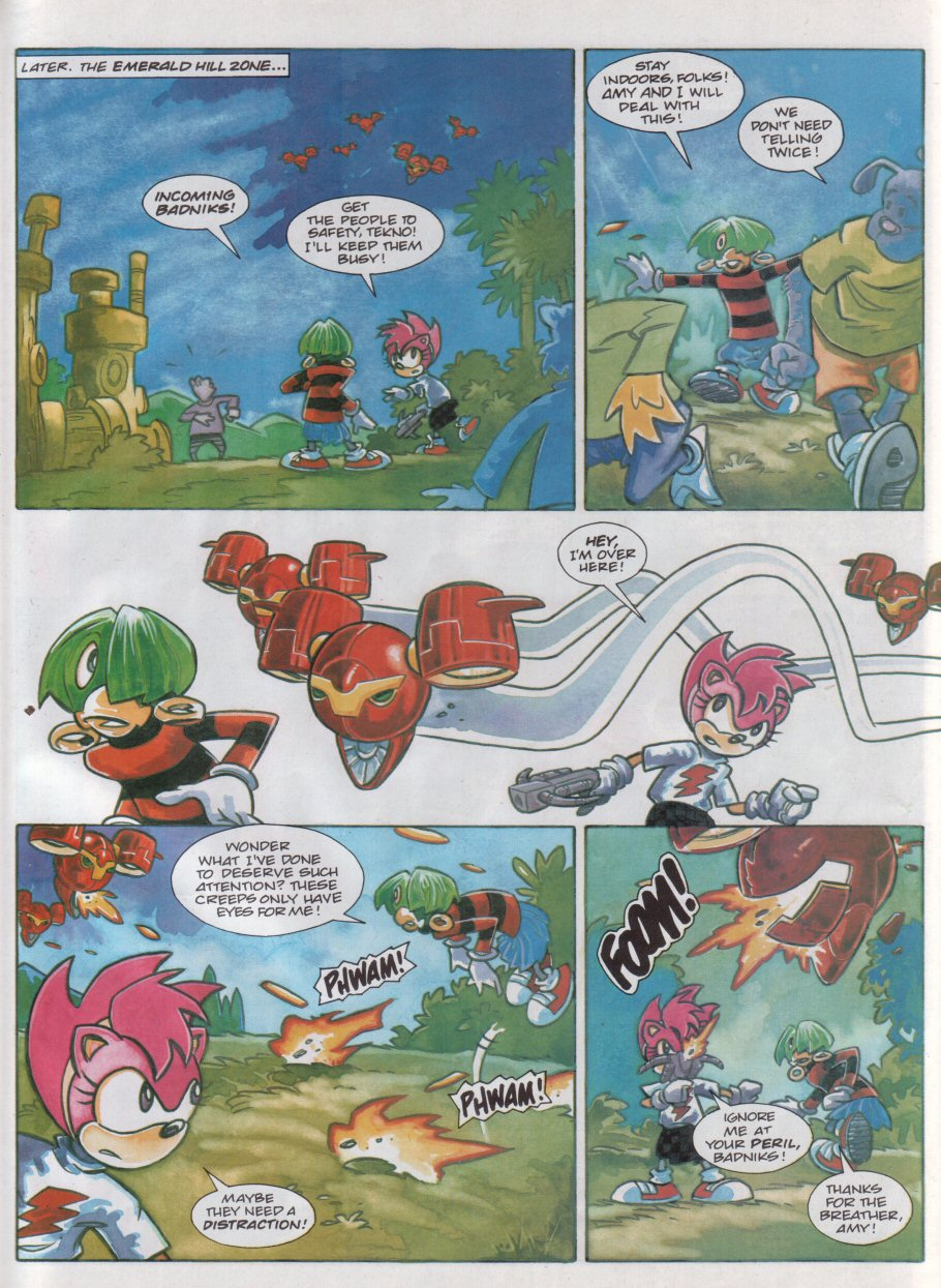 Sonic - The Comic Issue No. 118 Page 21