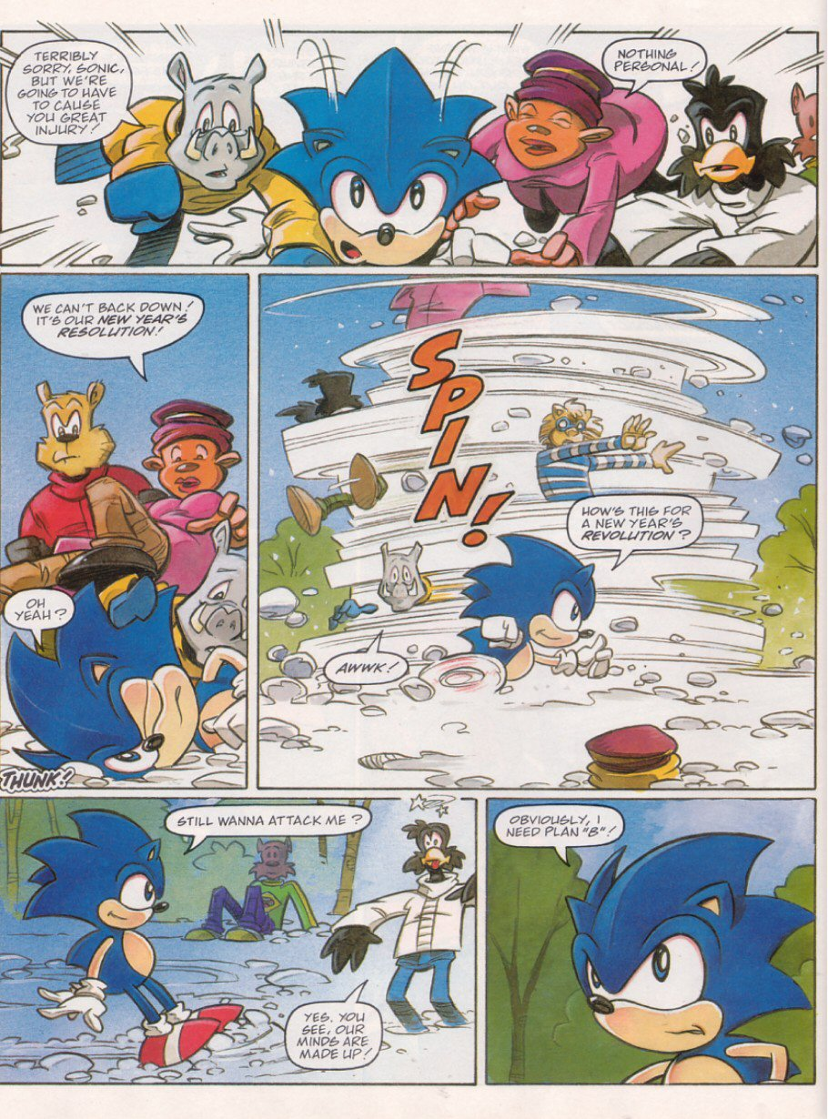 Sonic - The Comic Issue No. 120 Page 5