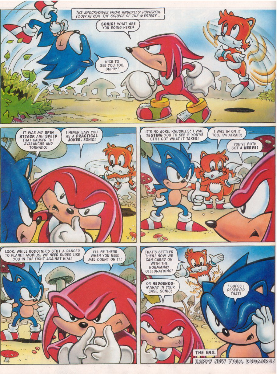 Sonic - The Comic Issue No. 120 Page 13