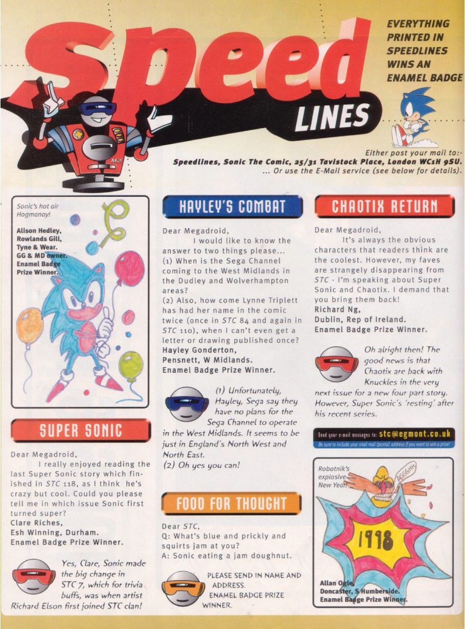 Sonic - The Comic Issue No. 120 Page 14