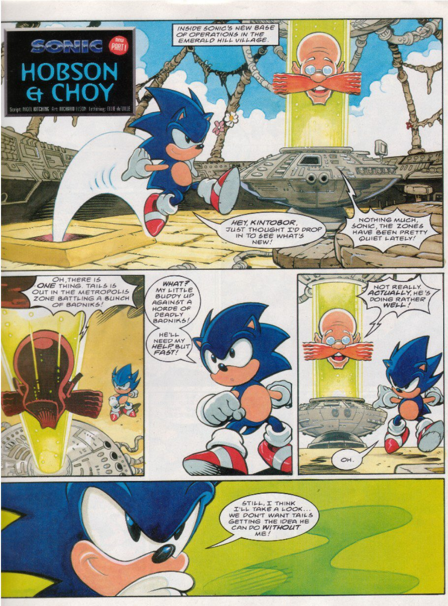 Sonic - The Comic Issue No. 121 Page 2