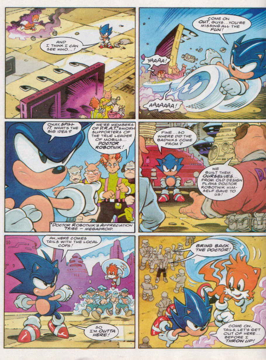 Sonic - The Comic Issue No. 121 Page 7