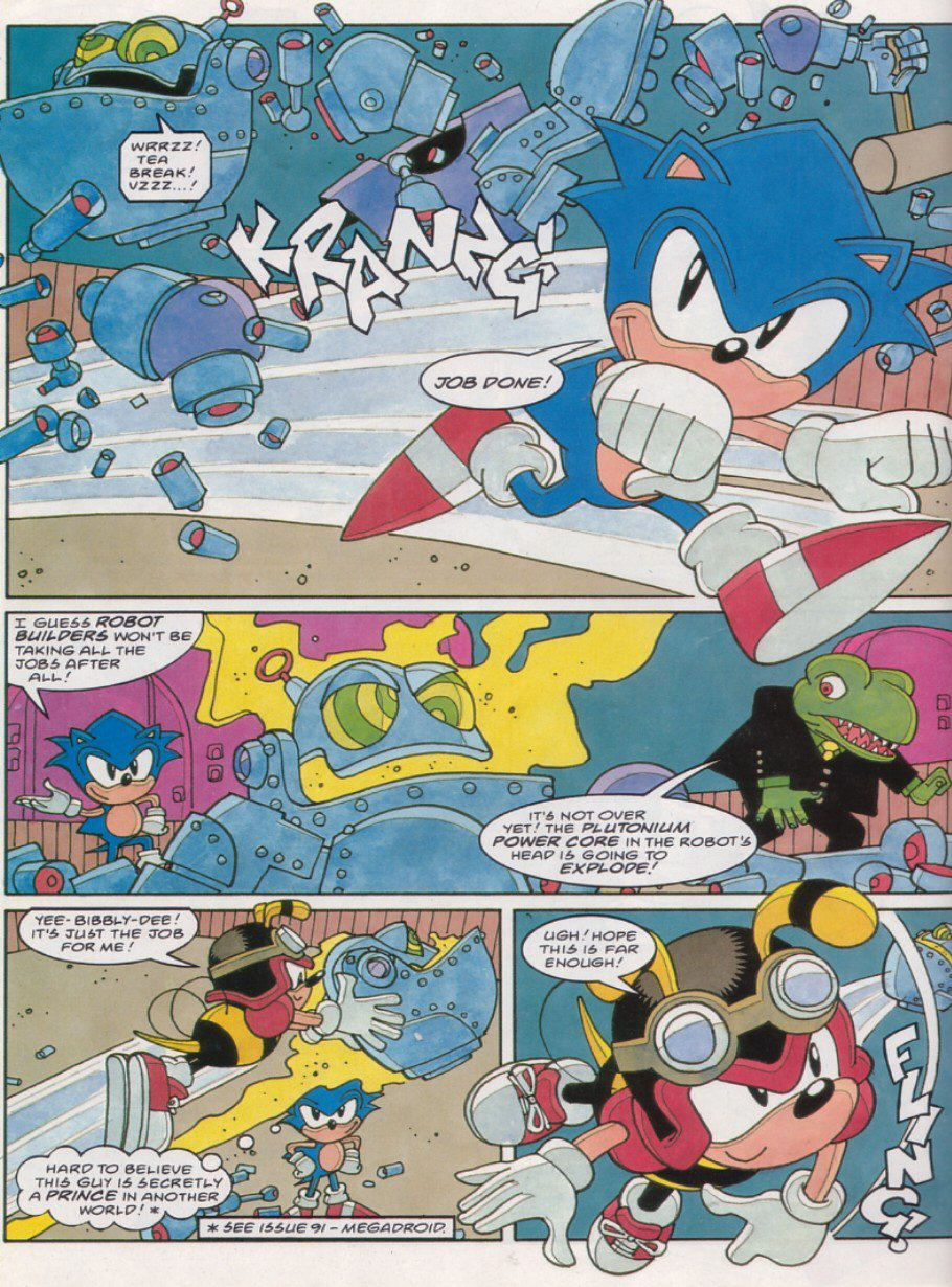 Sonic - The Comic Issue No. 121 Page 18