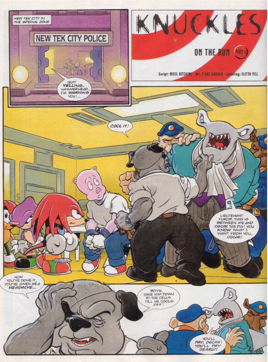 Sonic - The Comic Issue No. 124 Page 9