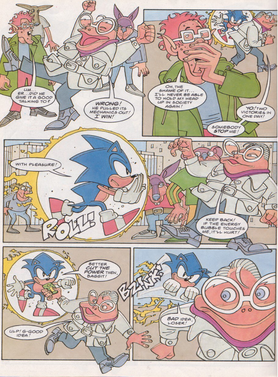 Sonic - The Comic Issue No. 124 Page 25