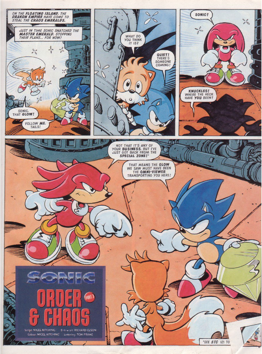 Sonic - The Comic Issue No. 125 Page 2