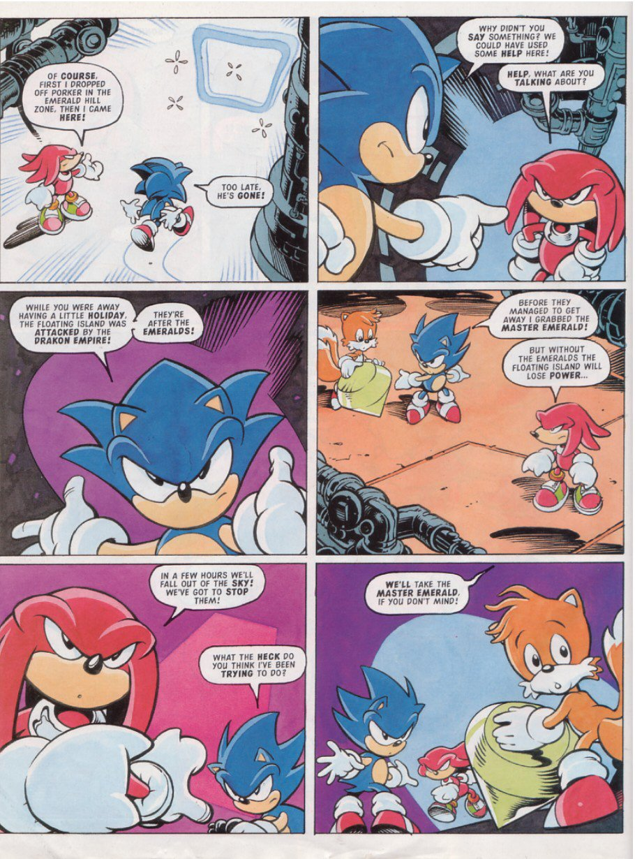 Sonic - The Comic Issue No. 125 Page 3