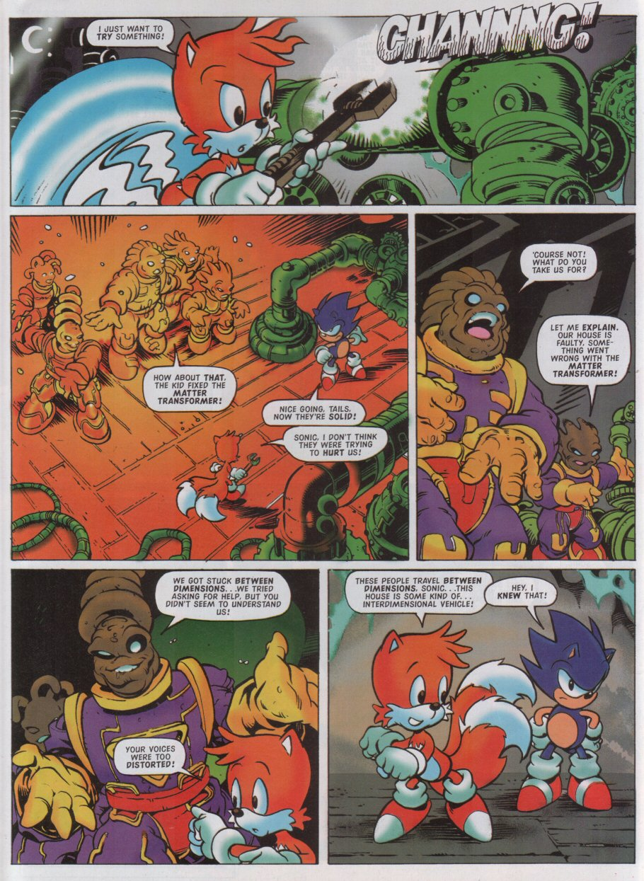 Sonic - The Comic Issue No. 126 Page 7
