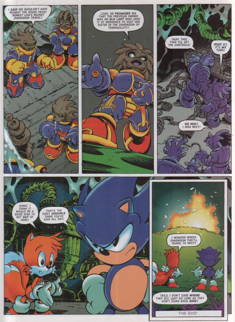 Sonic - The Comic Issue No. 126 Page 8