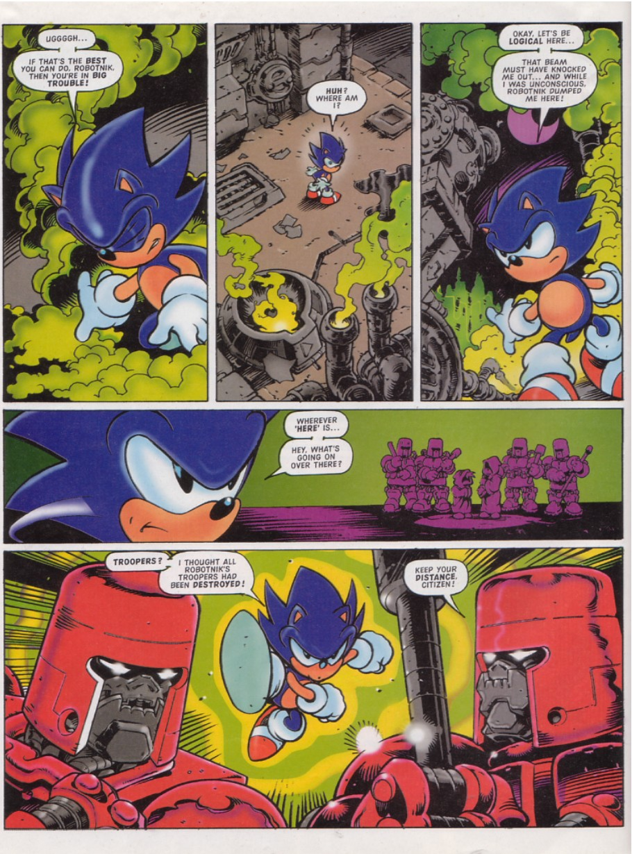 Sonic - The Comic Issue No. 128 Page 3