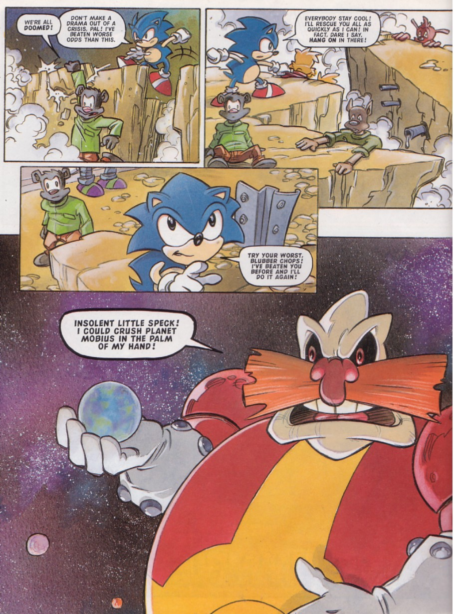 Sonic - The Comic Issue No. 128 Page 25
