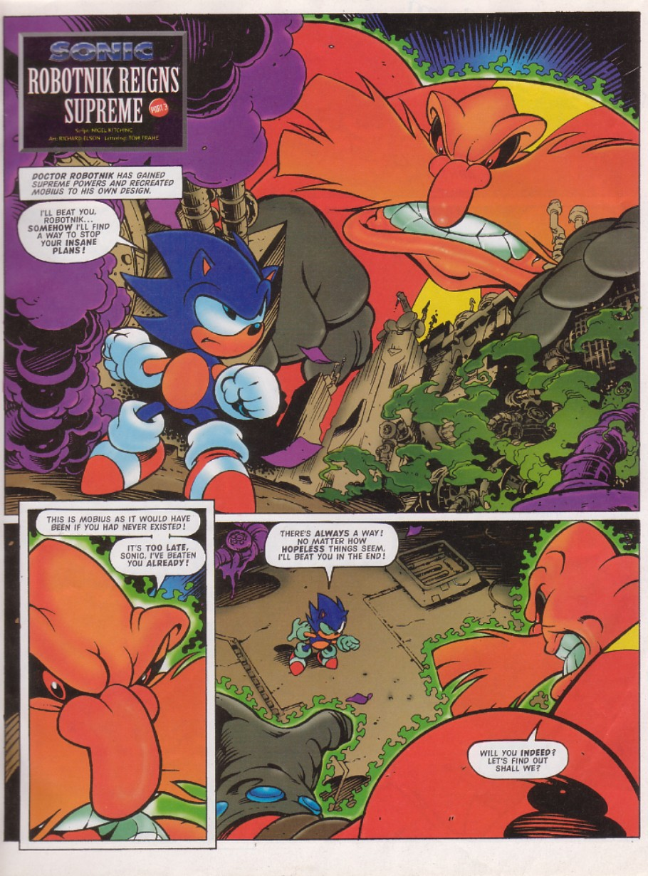 Sonic - The Comic Issue No. 129 Page 2