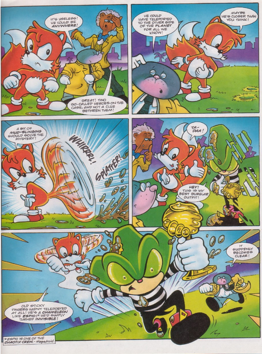 Sonic - The Comic Issue No. 129 Page 12
