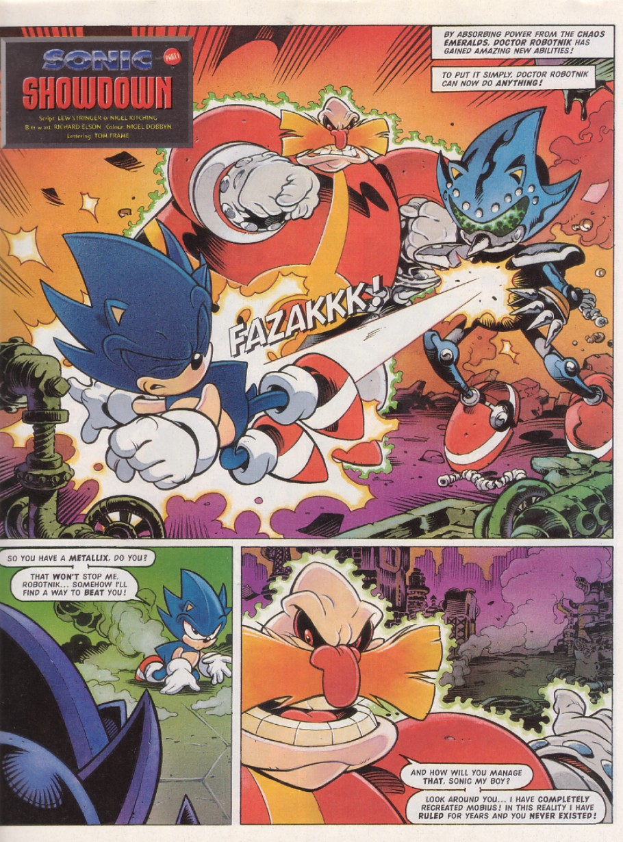 Sonic - The Comic Issue No. 130 Page 2