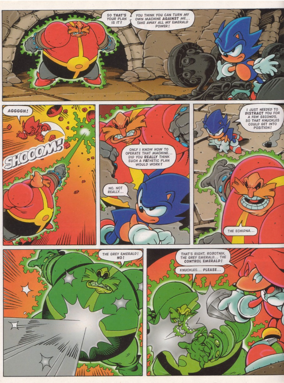 Sonic - The Comic Issue No. 130 Page 18