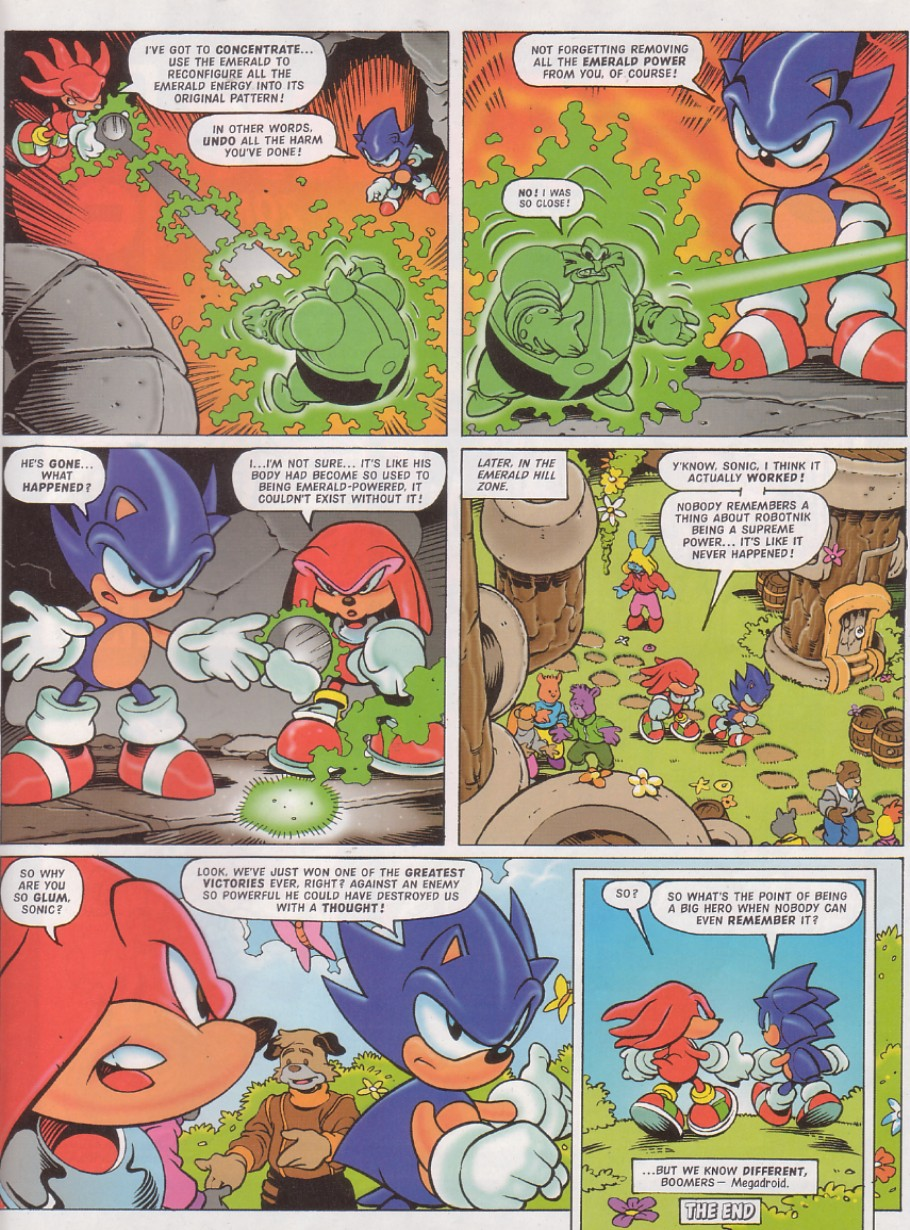 Sonic - The Comic Issue No. 130 Page 19