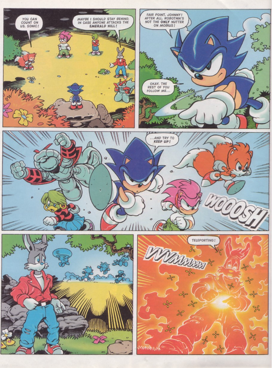 Sonic - The Comic Issue No. 131 Page 3