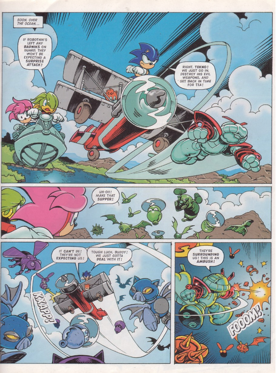 Sonic - The Comic Issue No. 131 Page 4