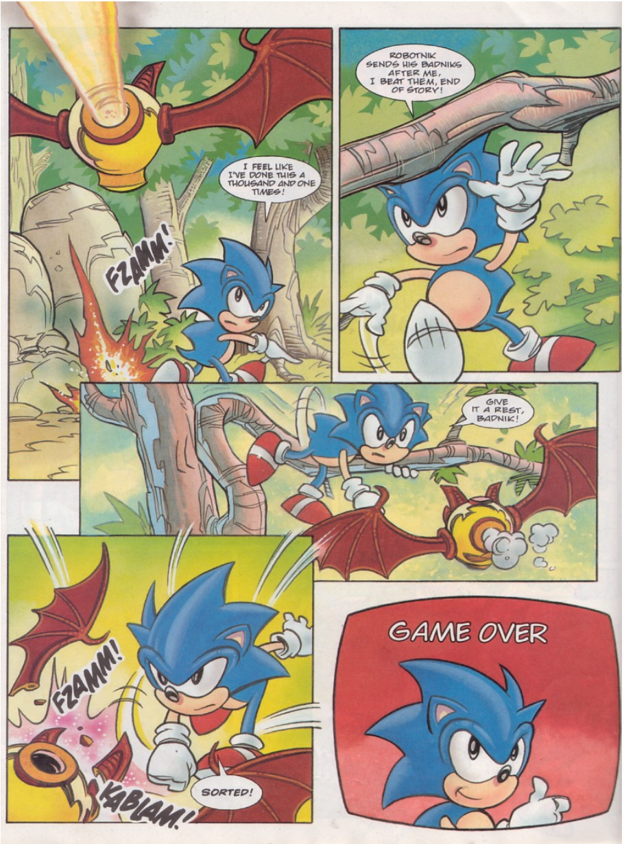 Sonic - The Comic Issue No. 131 Page 23