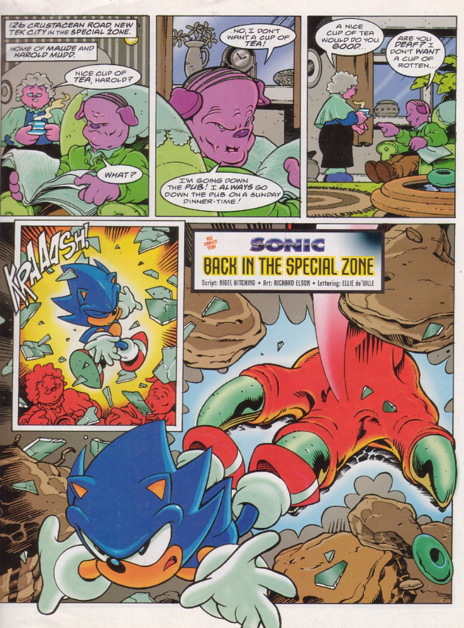 Sonic - The Comic Issue No. 134 Page 2