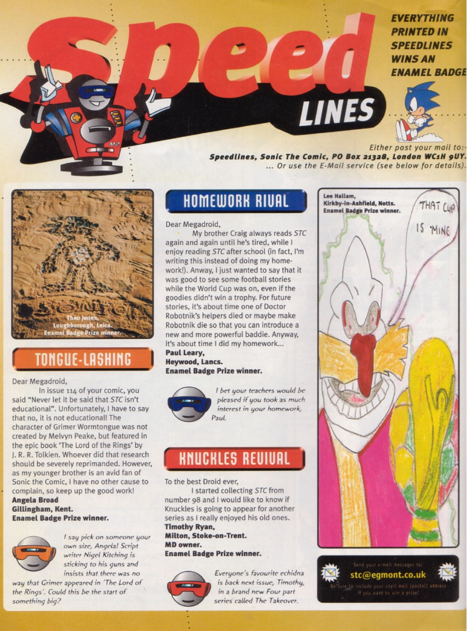 Sonic - The Comic Issue No. 134 Page 21