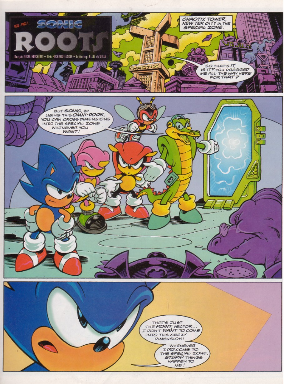 Sonic - The Comic Issue No. 135 Page 2