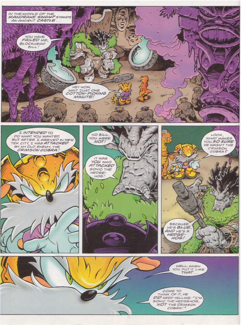 Sonic - The Comic Issue No. 136 Page 3