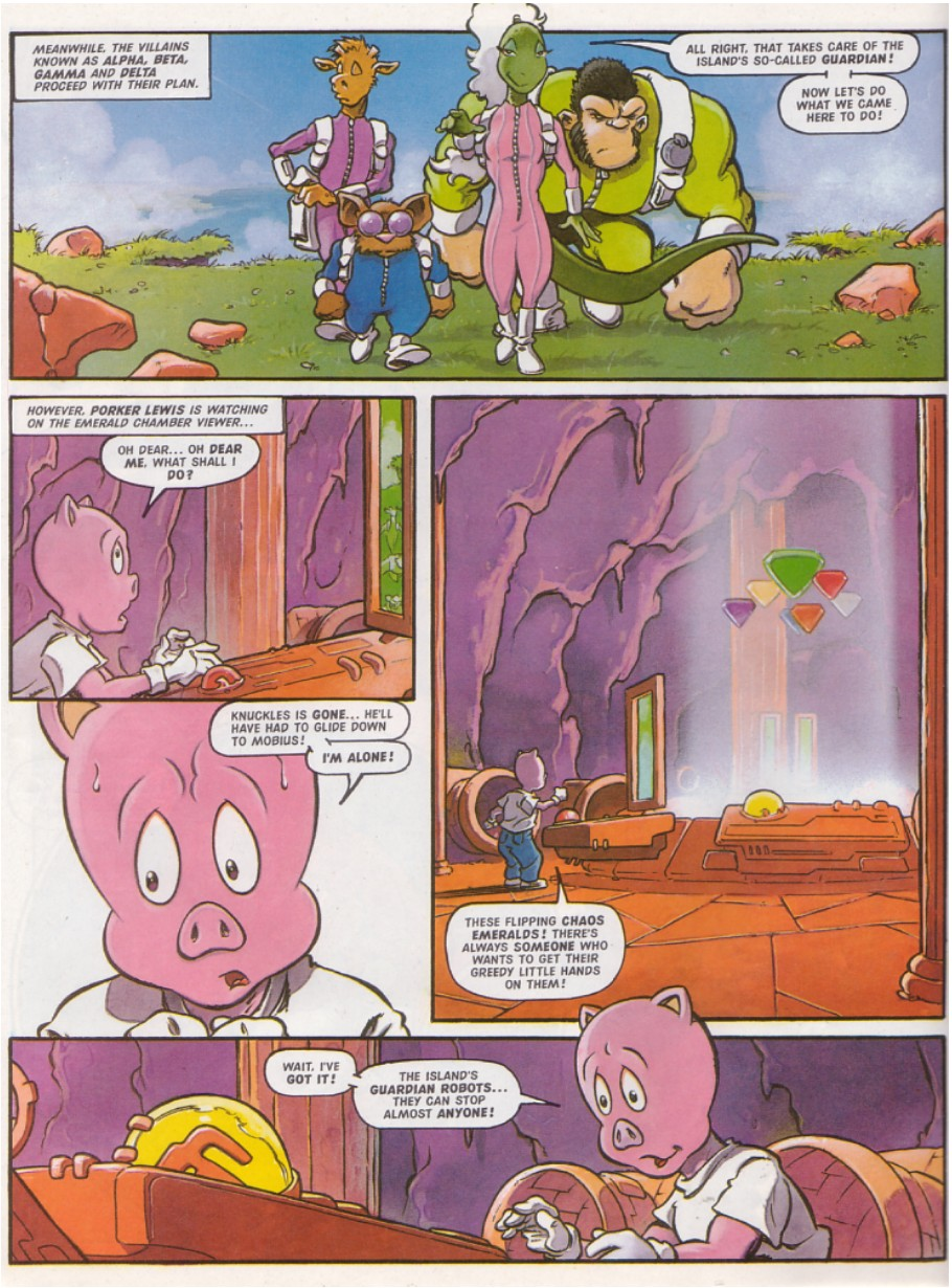 Sonic - The Comic Issue No. 136 Page 12